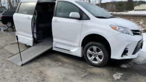 Used Wheelchair Van For Sale: 2018 Toyota Sienna LE Wheelchair Accessible Van For Sale with a VMI - VMI Northstar E Toyota  on it. VIN: 5TDYZ3DC1JS927981