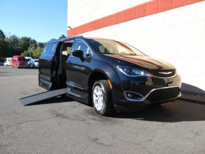 New Wheelchair Van For Sale: 2017 Chrysler Pacifica Touring Wheelchair Accessible Van For Sale with a VMI Chrysler Pacifica Northstar Access360 by VMI on it. VIN: 2C4RC1BG8HR759804
