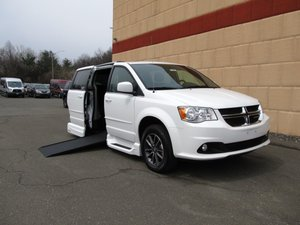 Used Wheelchair Van For Sale: 2017 Dodge Grand Caravan SXT Wheelchair Accessible Van For Sale with a VMI Dodge Northstar on it. VIN: 2C4RDGCG0HR749041