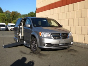 New Wheelchair Van For Sale: 2017 Dodge Grand Caravan SXT Wheelchair Accessible Van For Sale with a VMI Dodge Northstar E on it. VIN: 2C4RDGCG5HR672148