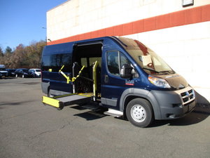 Used Wheelchair Van For Sale: 2016 Ram Promaster High Roof Wheelchair Accessible Van For Sale with a  on it. VIN: 3C6TRVPG1GE125803