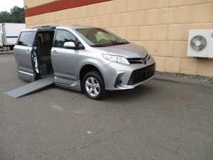 Used Wheelchair Van For Sale: 2018 Toyota Sienna LE Wheelchair Accessible Van For Sale with a VMI Toyota NorthstarAccess360 on it. VIN: 5TDKZ3DC0JS920035