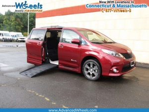 New Wheelchair Van For Sale: 2017 Toyota Sienna SE Wheelchair Accessible Van For Sale with a BraunAbility Toyota Rampvan XL on it. VIN: 5TDXZ3DC2HS872330