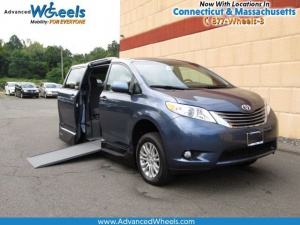 New Wheelchair Van For Sale: 2017 Toyota Sienna XLE Wheelchair Accessible Van For Sale with a VMI Toyota NorthstarAccess360 on it. VIN: 5TDYZ3DC4HS774808