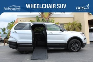 Used Wheelchair Van For Sale: 2018 Ford Explorer L Wheelchair Accessible Van For Sale with a  on it. VIN: 1FM5K7D80JGB47951