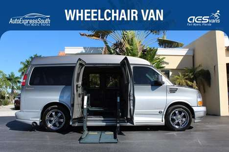 Used Wheelchair Van For Sale: 2010 Gmc Savana Passenger SE Wheelchair Accessible Van For Sale with a  on it. VIN: 1GDUGEB44A1178334