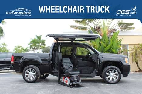 Used Wheelchair Van For Sale: 2011 Gmc Sierra 1500 L Wheelchair Accessible Van For Sale with a  on it. VIN: 3GTP2XE21BG100005