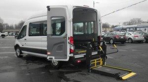 Used Wheelchair Van For Sale: 2015 Ford Transit Wagon 350 XLT High Roof  Wheelchair Accessible Van For Sale with a Commercial Vans - AbiliTrax Modular Seating on it. VIN: 1FBAX2XM3FKA97023