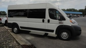 Used Wheelchair Van For Sale: 2016 Ram Promaster Window Van  Wheelchair Accessible Van For Sale with a Commercial Vans - AbiliTrax Modular Seating on it. VIN: 3C6TRVPG4GE109220