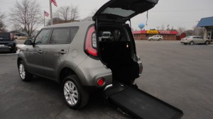 Used Wheelchair Van For Sale: 2017 Kia Soul +  Wheelchair Accessible Van For Sale with a Freedom Motors - Kia Soul Wheelchair Accessible on it. VIN: KNDJP3A56H7449102