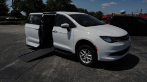 Used Wheelchair Van For Sale: 2018 Chrysler Pacifica Touring Wheelchair Accessible Van For Sale with a VMI - Chrysler Northstar on it. VIN: 2C4RC1DG2JR130395