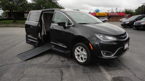 Used Wheelchair Van For Sale: 2017 Chrysler Pacifica Touring Wheelchair Accessible Van For Sale with a VMI - Chrysler Northstar on it. VIN: 2C4RC1BG9HR809674