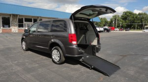 New Wheelchair Van For Sale: 2017 Dodge Caravan  Wheelchair Accessible Van For Sale with a ATS - ATS Rear Entry on it. VIN: 2C4RDGBG4HR617725