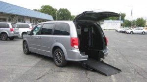 Used Wheelchair Van For Sale: 2016 Dodge Caravan  Wheelchair Accessible Van For Sale with a Freedom Motors - Power Dodge Rear Entry on it. VIN: 2C4RDGEG1GR330014