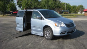 Used Wheelchair Van For Sale: 2013 Chrysler Town & Country Touring Wheelchair Accessible Van For Sale with a VMI - Chrysler Northstar on it. VIN: 2C4RC1CG7DR543998