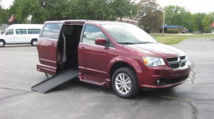 Used Wheelchair Van For Sale: 2018 Dodge Caravan  Wheelchair Accessible Van For Sale with a VMI - Dodge Summit on it. VIN: 2C4RDGCGXJR215812