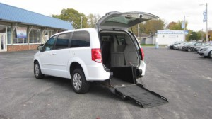 Used Wheelchair Van For Sale: 2016 Dodge Caravan  Wheelchair Accessible Van For Sale with a FR Wheelchair Vans - Dodge Rear Entry on it. VIN: 2C4RDGBG6GR152413