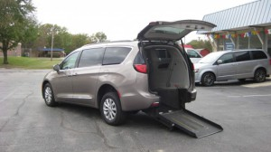 Used Wheelchair Van For Sale: 2017 Chrysler Pacifica  Wheelchair Accessible Van For Sale with a ATS - ATS Rear Entry on it. VIN: 2C4RC1BGXHR733897
