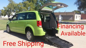 Used Wheelchair Van For Sale: 2015 Dodge Grand Caravan SE  Wheelchair Accessible Van For Sale with a FR Wheelchair Vans - Dodge Rear Entry on it. VIN: 2C4RDGBGXFR606404