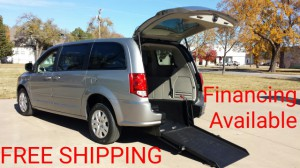 Used Wheelchair Van For Sale: 2015 Dodge Grand Caravan SE  Wheelchair Accessible Van For Sale with a ATS - ATS Rear Entry on it. VIN: 2C4RDGBG5FR542630