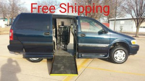 Used Wheelchair Van For Sale: 2002 Chevrolet Venture LS  Wheelchair Accessible Van For Sale with a BraunAbility - Chevrolet Entervan on it. VIN: 1GNDX03E42D251580
