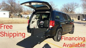 New Wheelchair Van For Sale: 2017 Dodge Caravan  Wheelchair Accessible Van For Sale with a ATS - ATS Rear Entry on it. VIN: 2C4RDGCG7HR851842