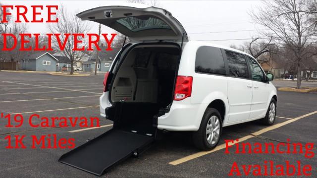 8befce1110 Used Wheelchair Van For Sale  2019 Dodge Caravan Wheelchair Accessible Van  For Sale with a