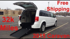 Used Wheelchair Van For Sale: 2016 Dodge Caravan  Wheelchair Accessible Van For Sale with a ATS - ATS Rear Entry on it. VIN: 2C4RDGBG2FR652941