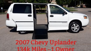 Used Wheelchair Van For Sale: 2006 Chevrolet Uplander LT Wheelchair Accessible Van For Sale with a ATS - ATS Rear Entry on it. VIN: 1GBDV13L96D236490