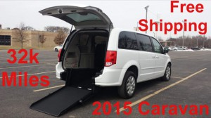 Used Wheelchair Van For Sale: 2015 Dodge Caravan  Wheelchair Accessible Van For Sale with a ATS - ATS Rear Entry on it. VIN: 2C4RDGBG2FR652941