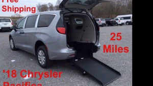 Used Wheelchair Van For Sale: 2018 Chrysler Pacifica LE Wheelchair Accessible Van For Sale with a ATS - ATS Rear Entry on it. VIN: 2C4RC1AG2JR212406