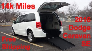 Used Wheelchair Van For Sale: 2016 Dodge Caravan  Wheelchair Accessible Van For Sale with a ATS - ATS Rear Entry on it. VIN: 2C4RDGBG2GR388508