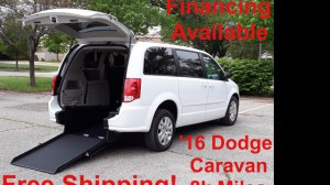 Used Wheelchair Van For Sale: 2016 Dodge Caravan  Wheelchair Accessible Van For Sale with a ATS - ATS Rear Entry on it. VIN: 2C4RDGBG5GR311826