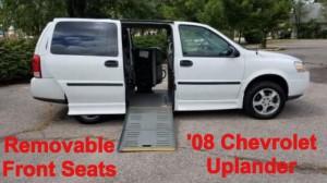 Chevrolet Wheelchair Vans For Sale | BLVD com
