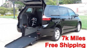 Used Wheelchair Van For Sale: 2018 Toyota Sienna LE Wheelchair Accessible Van For Sale with a ATS - ATS Rear Entry on it. VIN: 5TDKZ3DC4JS948582