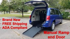 New Wheelchair Van For Sale: 2019 Dodge Caravan  Wheelchair Accessible Van For Sale with a ATS - ATS Rear Entry on it. VIN: 2C4RDGBG8KR742122