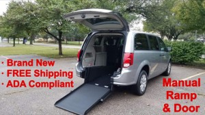 New Wheelchair Van For Sale: 2019 Dodge Caravan  Wheelchair Accessible Van For Sale with a ATS - ATS Rear Entry on it. VIN: 2C4RDGBG6KR754477