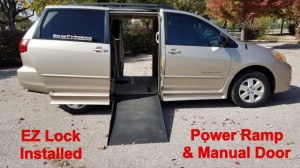 Used Wheelchair Van For Sale: 2005 Toyota Sienna LE Wheelchair Accessible Van For Sale with a BraunAbility - Toyota BraunAbility Li on it. VIN: 5TDZA23CX5S311381