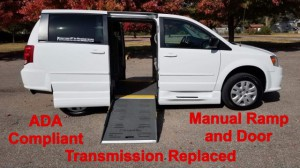 Used Wheelchair Van For Sale: 2014 Dodge Caravan  Wheelchair Accessible Van For Sale with a BraunAbility - Dodge Entervan II on it. VIN: 2C7WDGBGXER432192