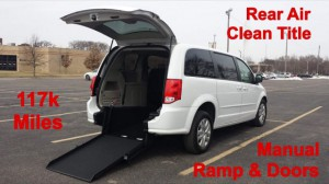 Used Wheelchair Van For Sale: 2016 Dodge Caravan  Wheelchair Accessible Van For Sale with a Non Branded - Please See Description on it. VIN: 2C4RDGBG7GR152467