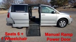Used Wheelchair Van For Sale: 2010 Dodge Caravan  Wheelchair Accessible Van For Sale with a AMS - Dodge Legend Side Entry on it. VIN: 2D4RN5D11AR484604