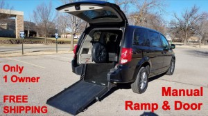 Used Wheelchair Van For Sale: 2017 Dodge Caravan  Wheelchair Accessible Van For Sale with a ATS - ATS Rear Entry on it. VIN: 2C4RDGBGXHR630592