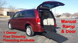 Used Wheelchair Van For Sale: 2019 Dodge Caravan  Wheelchair Accessible Van For Sale with a ATS - ATS Rear Entry on it. VIN: 2C4RDGCG5KR580416