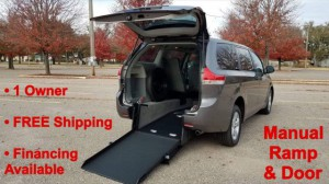 Used Wheelchair Van For Sale: 2018 Toyota Sienna LE Wheelchair Accessible Van For Sale with a ATS - ATS Rear Entry on it. VIN: 5TDKZ3DC4JS944161