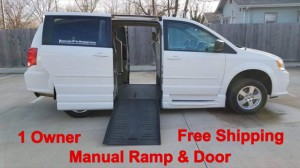Used Wheelchair Van For Sale: 2012 Dodge Caravan  Wheelchair Accessible Van For Sale with a ATS - ATS Rear Entry on it. VIN: 2C4RDGBG4CR225806