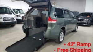 Used Wheelchair Van For Sale: 2014 Toyota Sienna L Wheelchair Accessible Van For Sale with a ATS - ATS Rear Entry on it. VIN: 5TDZK3DC1ES420586