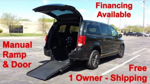Used Wheelchair Van For Sale: 2015 Dodge Caravan  Wheelchair Accessible Van For Sale with a ATS - ATS Rear Entry on it. VIN: 2C4RDGBG7FR636380