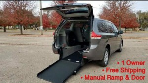 Used Wheelchair Van For Sale: 2018 Toyota Sienna  Wheelchair Accessible Van For Sale with a ATS - ATS Rear Entry on it. VIN: 5TDKZ3DC4JS944161