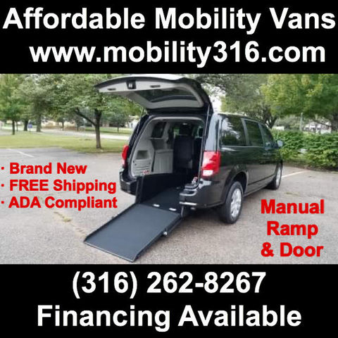 New Wheelchair Van For Sale: 2019 Dodge Caravan  Wheelchair Accessible Van For Sale with a ATS - ATS Rear Entry on it. VIN: 2C4RDGBG6KR777323