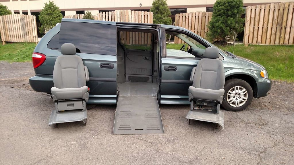 Used Wheelchair Van For Sale 2007 Dodge Grand Caravan Accessible With